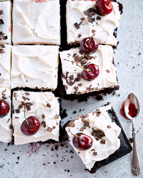 Black Forest Sheet Cake