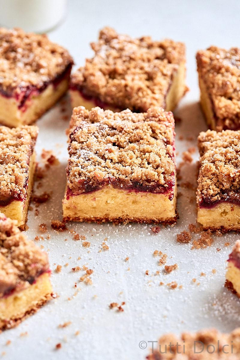 Brown Butter Cherry Coffee Cake
