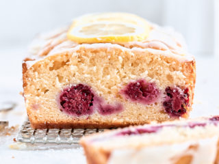 Blackberry Lemon Loaf Cake