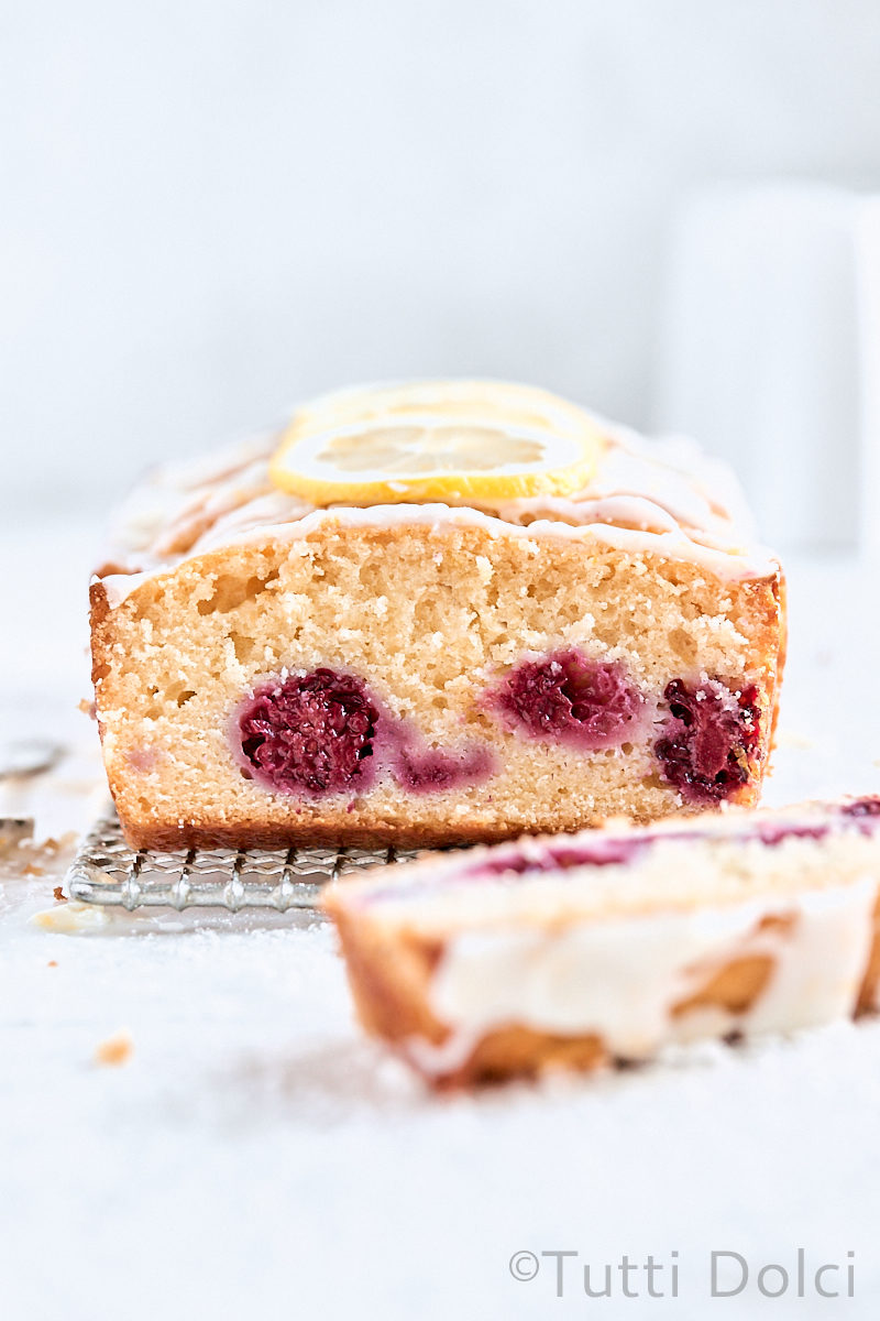 Blackberry Lemon Loaf Cake