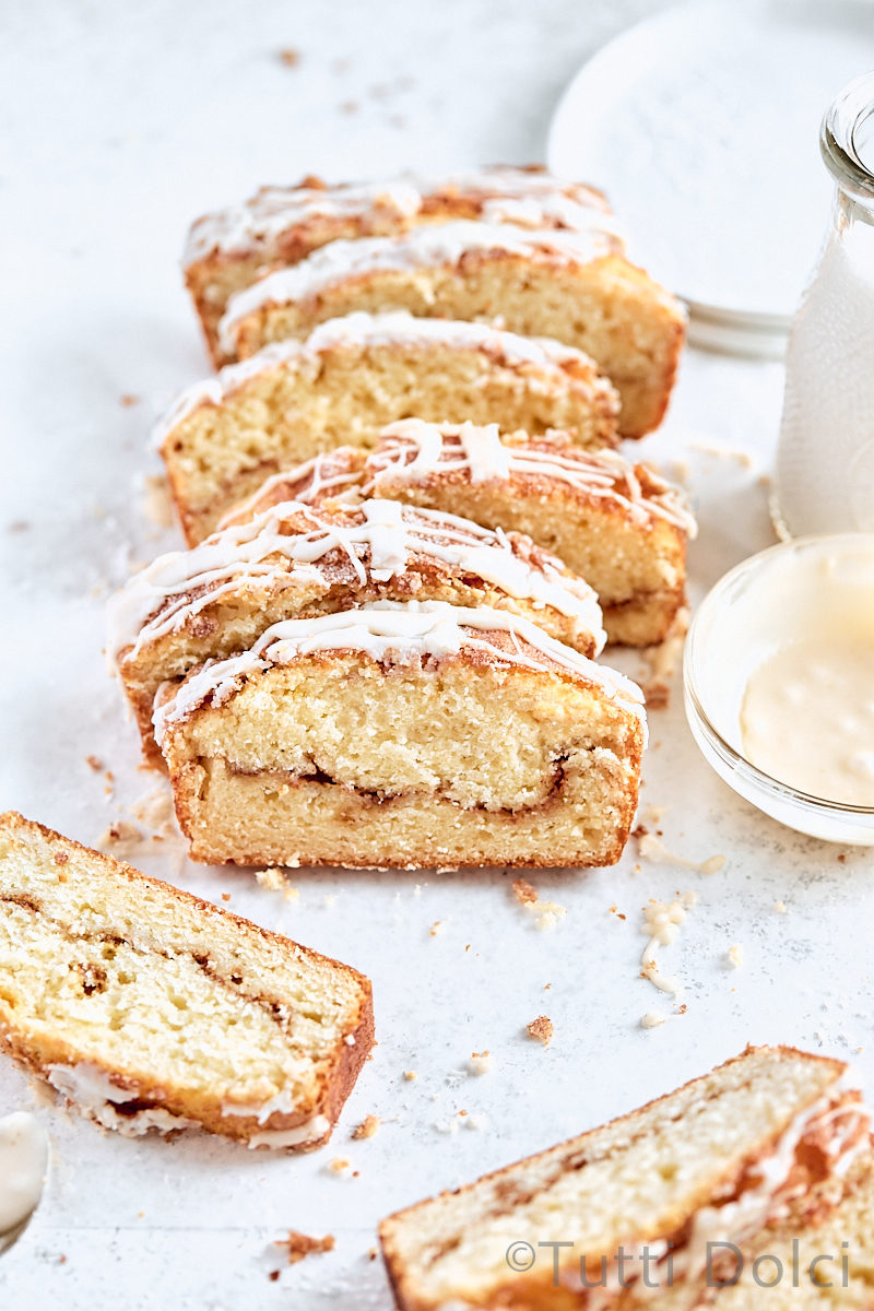 Cinnamon Swirl Loaf Cake