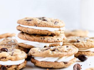 Espresso Chocolate Sandwich Cookies