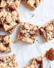 Salted Caramel Crumb Bars