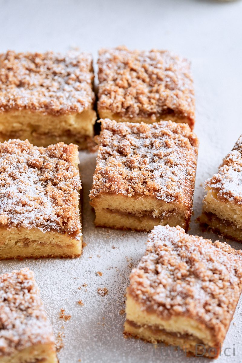 Brown Butter Cinnamon Streusel Coffee Cake