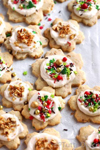 Brown Butter Walnut Sugar Cookies