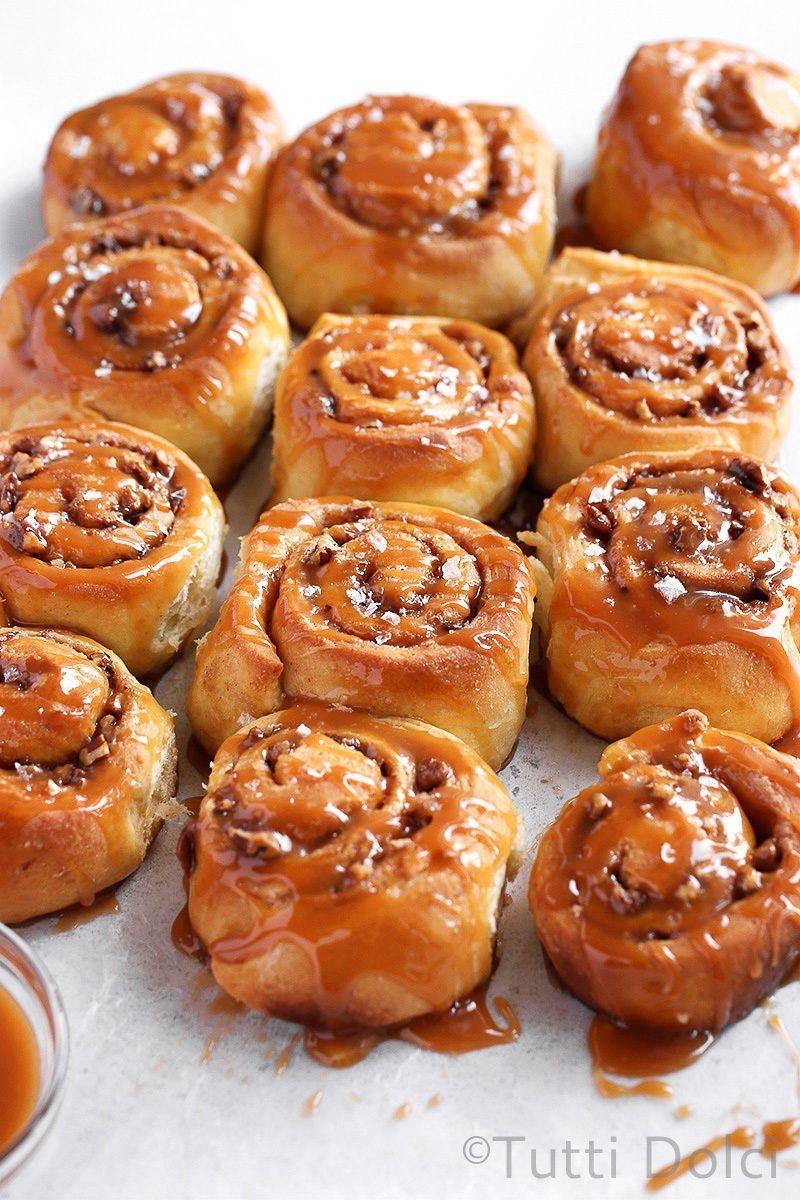 Caramel Pecan Cinnamon Rolls