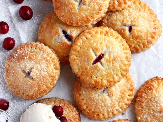 Cranberry Apple Hand Pies