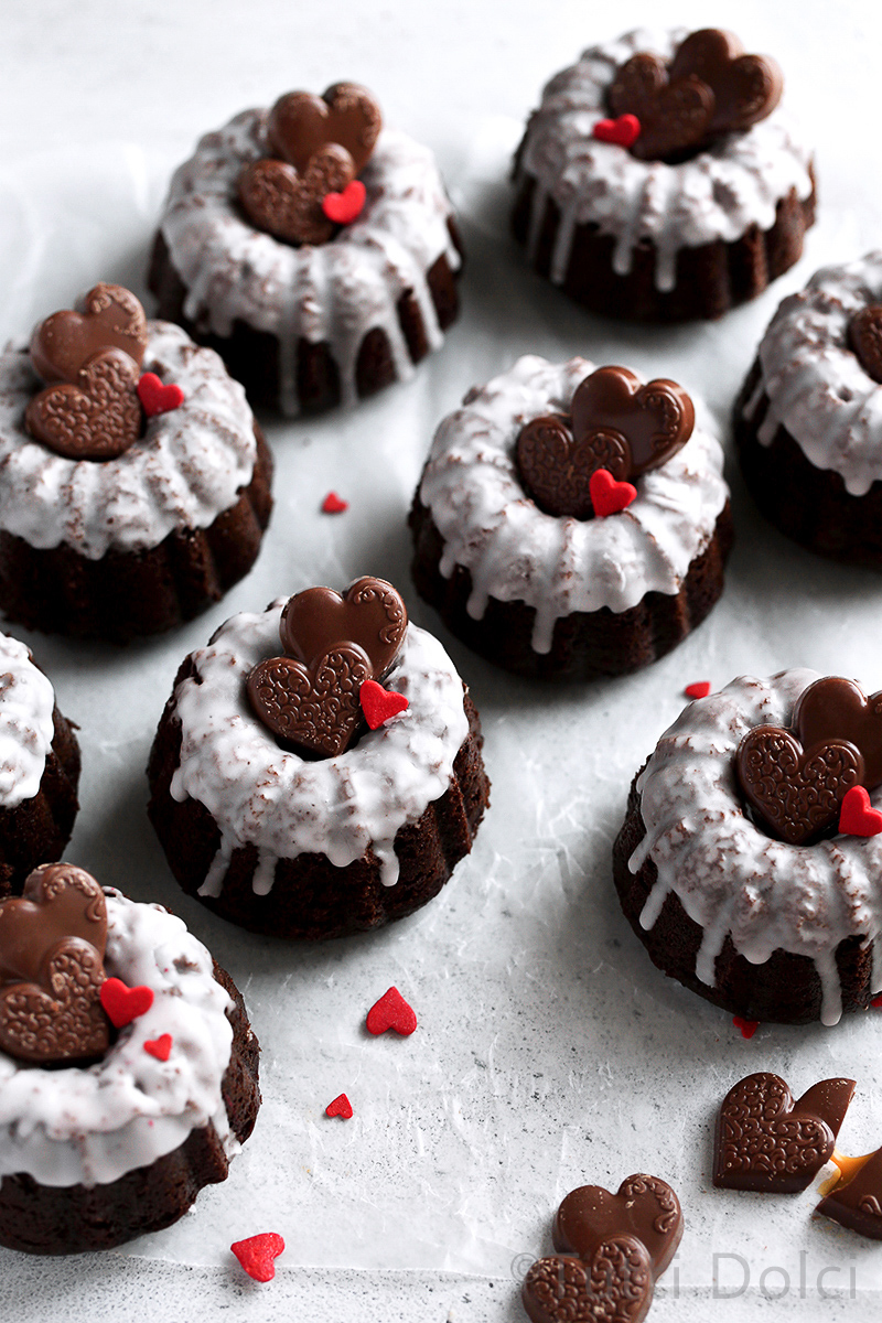 Kahlua Chocolate Cakes