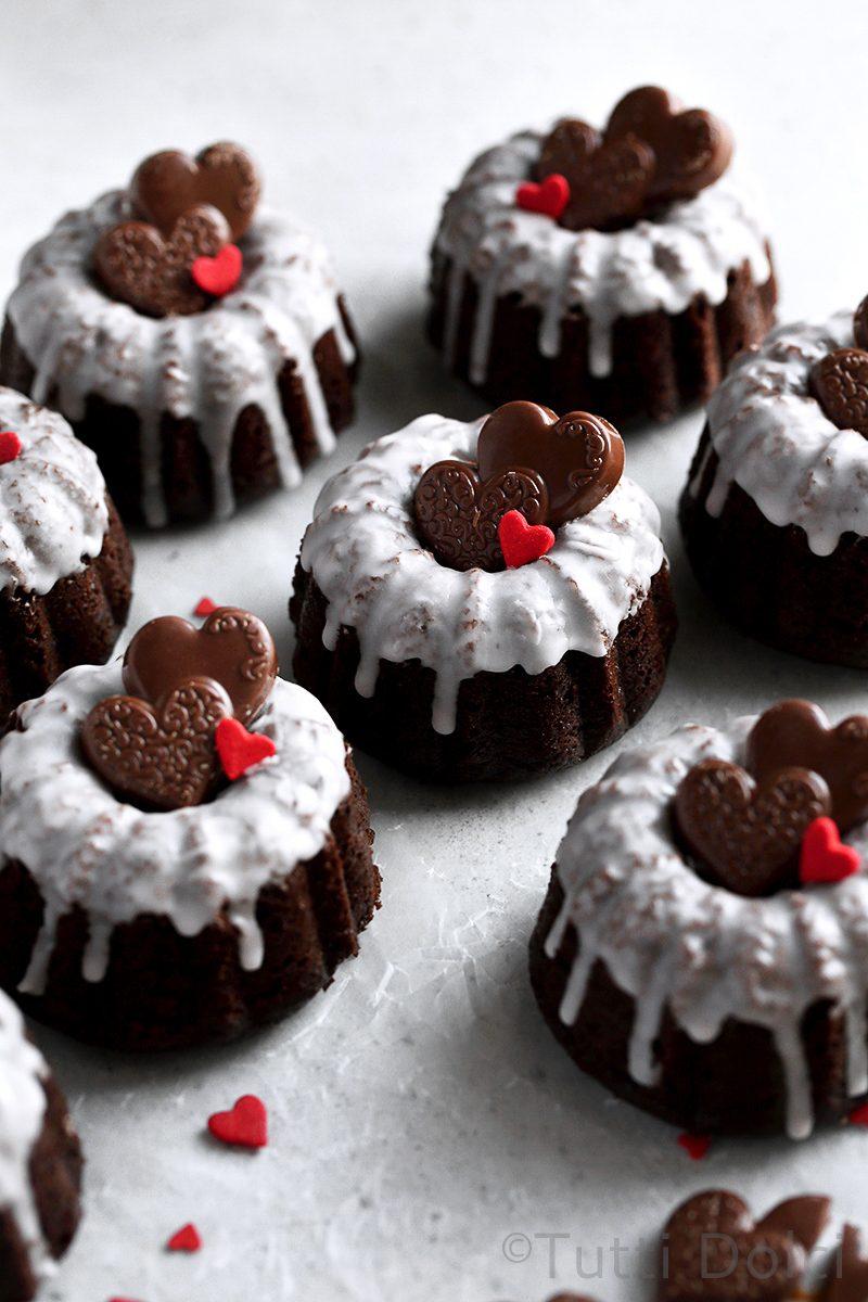 Kahlua Chocolate Cakes