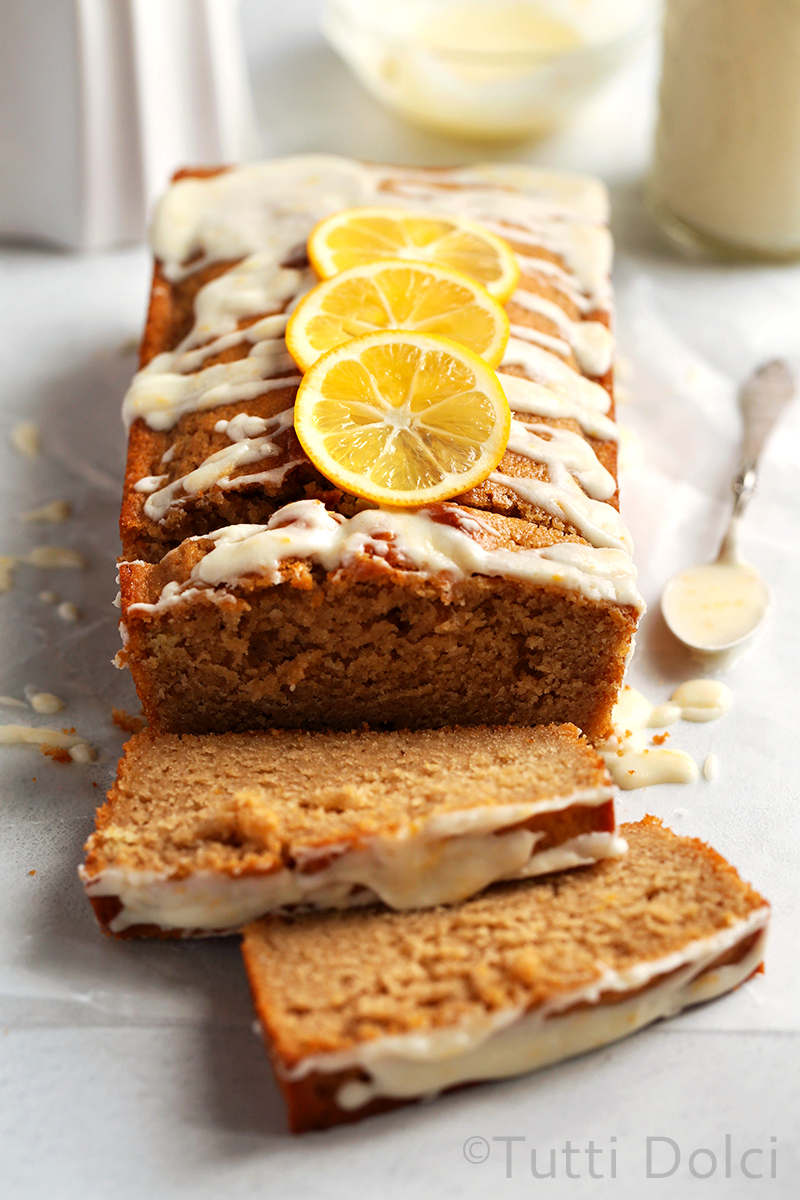 Meyer Lemon Earl Grey Tea Cake