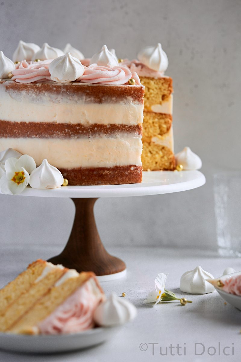 Meyer Lemon Layer Cake