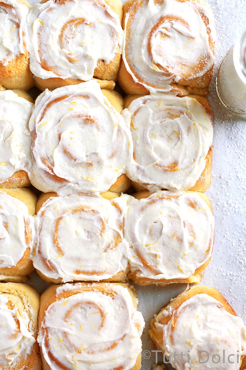 Meyer Lemon Rolls
