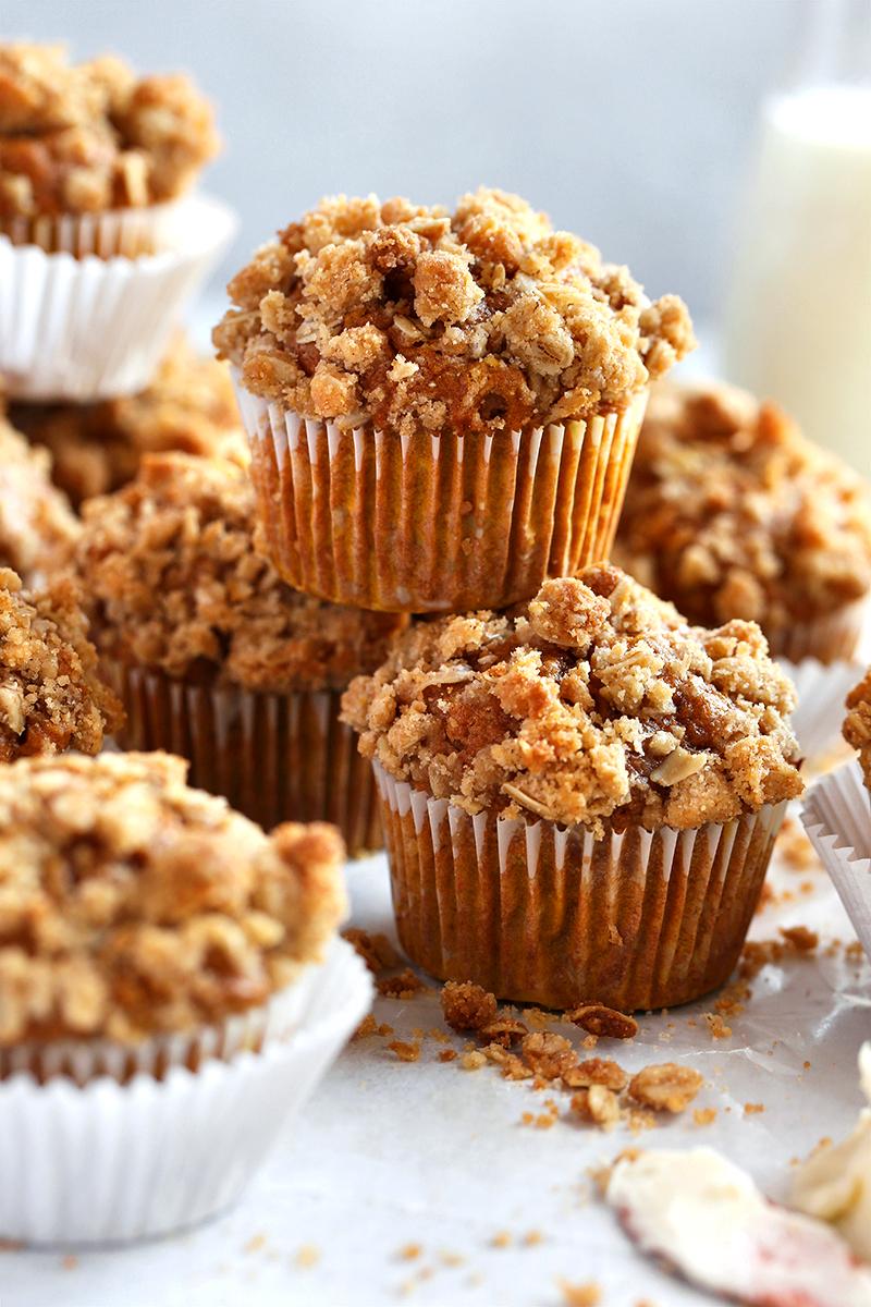 Pumpkin Spice Crumb Muffins