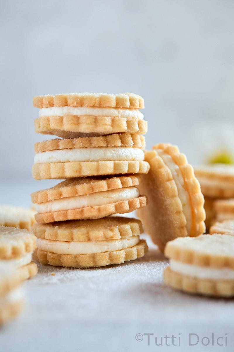 Vanilla Citrus Sandwich Cookies